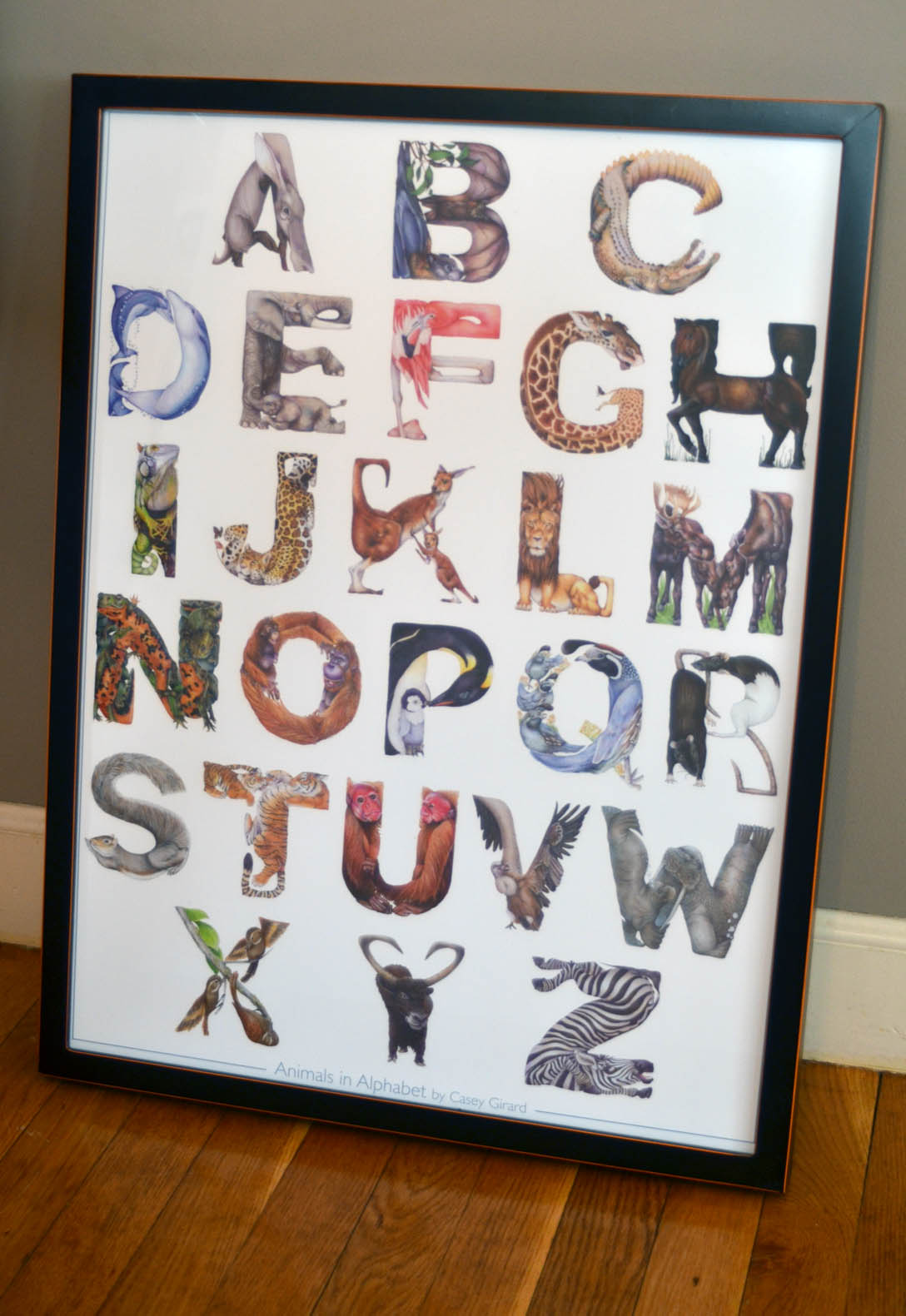 Poster board letters template